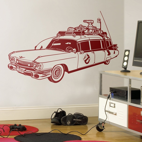 Wall Stickers: Ghostbusters, Ecto-1