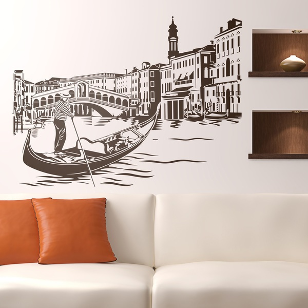 Wall Stickers: Rialto Bridge in Venice