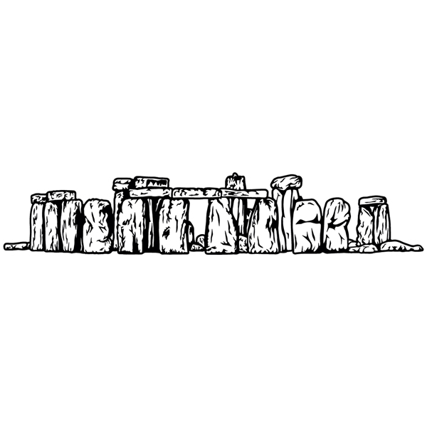 Wall Stickers: Stonehenge