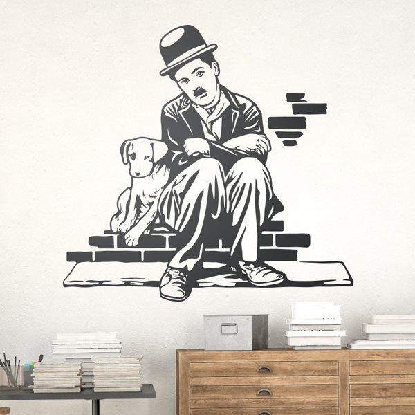 Wall Stickers: Charlot, Dogs life