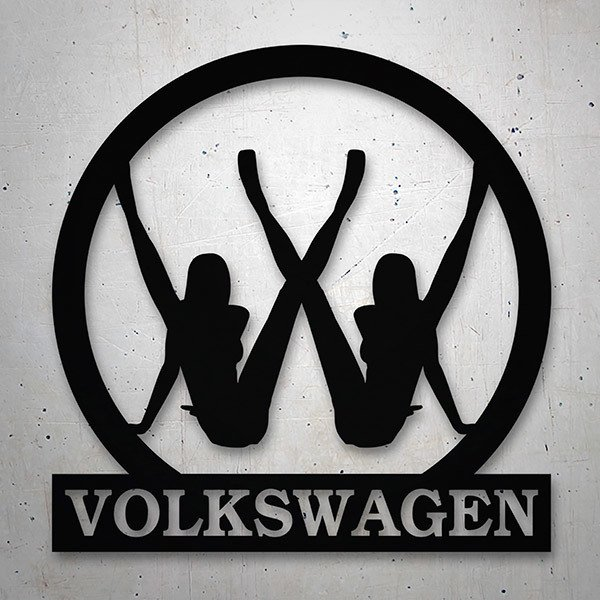 Car & Motorbike Stickers: Volkswagen sexy