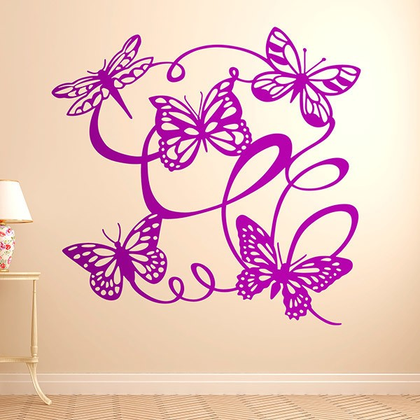 Wall Stickers: Butterflies fluttering