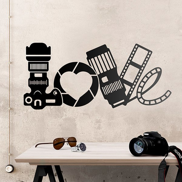 Wall Stickers: Photographic Love