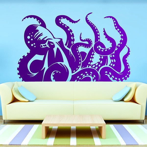 Wall Stickers: Kraken