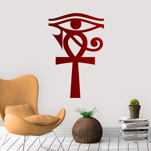 Wall Stickers: Cross of Ra, the Sun God