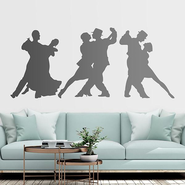 Wall Stickers: Couples dancing