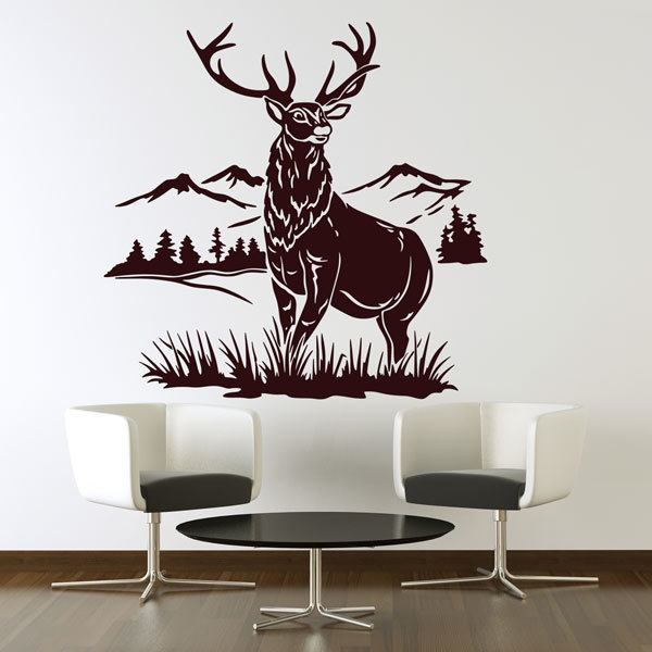 Wall Stickers: Deer in the woods