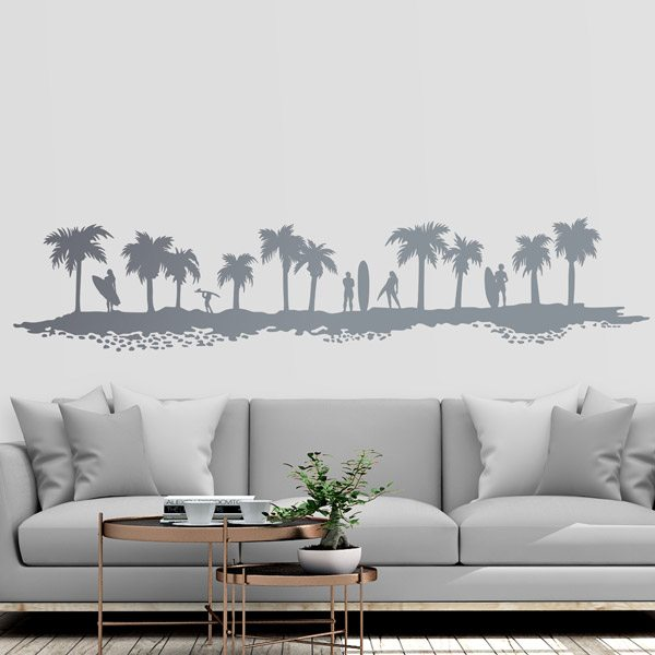 Wall Stickers: Skyline surf
