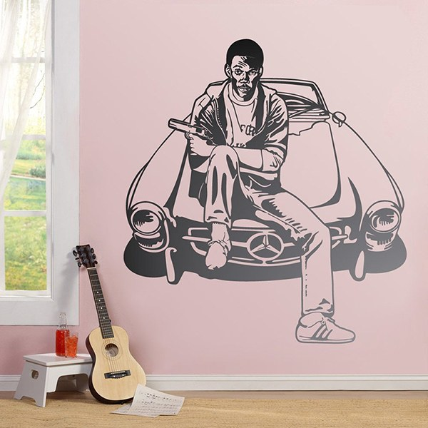 Wall Stickers: Eddie Murphy Beverly Hills Cop