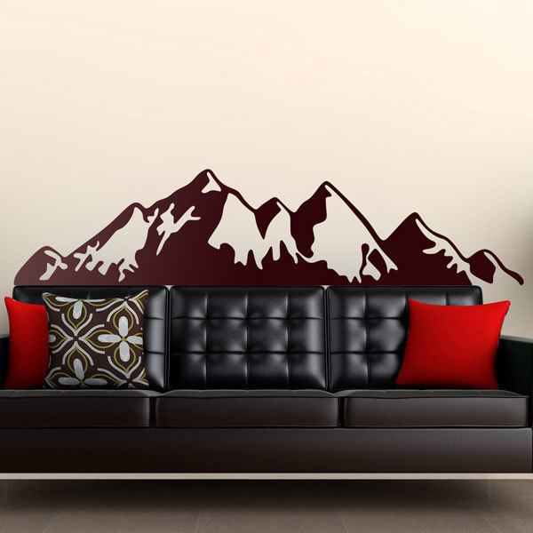 Wall Stickers: Mountain