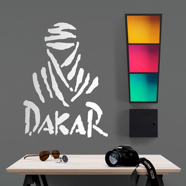 Wall Stickers: Logo rally Dakar