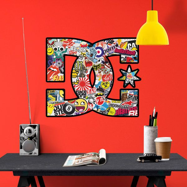 Wall Stickers: DC logotypes