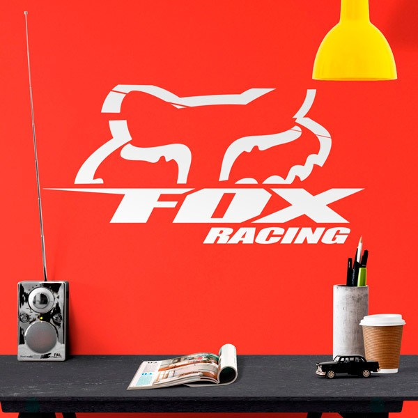 Wall Stickers: Fox Racing 3.0