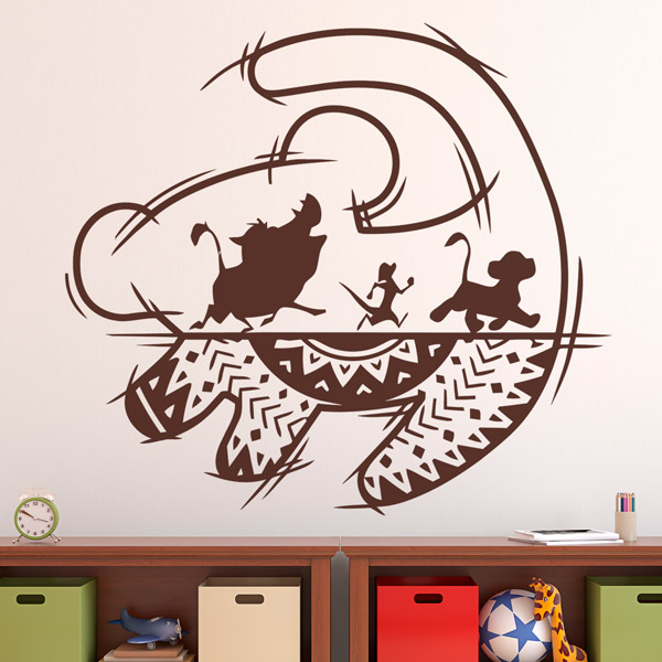 Stickers for Kids: The Lion King Art