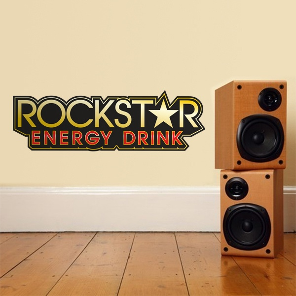 Wall Stickers: Rockstar Energy Drink Bigger