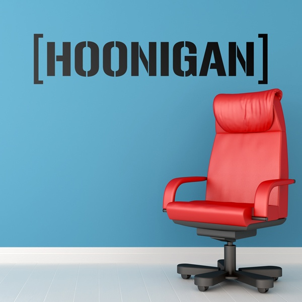 Wall Stickers: Hoonigan Bigger