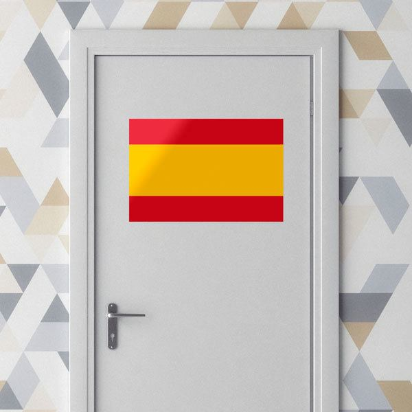 Wall Stickers: Spanish flag