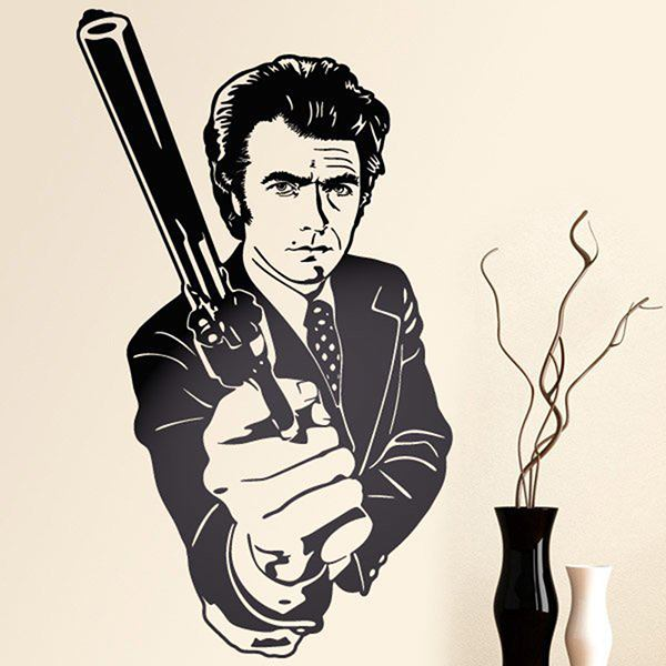Wall Stickers: Dirty Harry