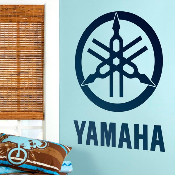 Wall Stickers: Yamaha logotype