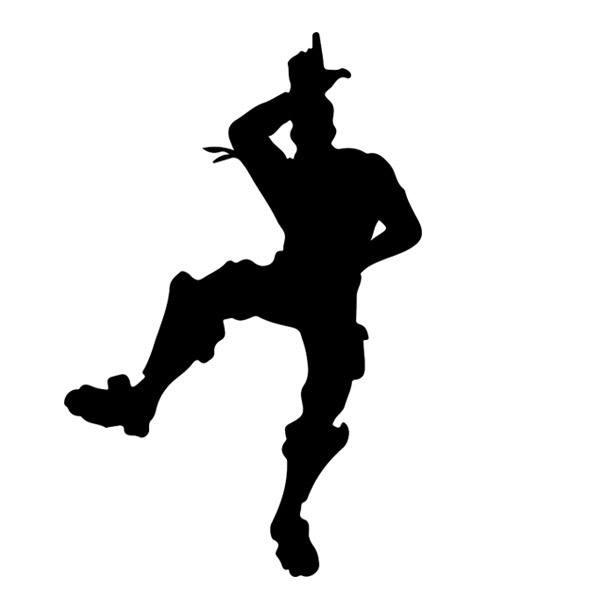 Wall Sticker Fortnite Dance Muraldecal Com