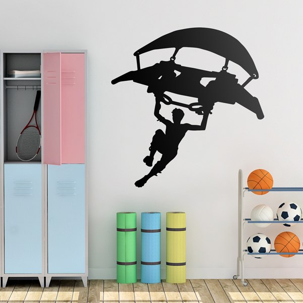 Wall Stickers: Fortnite parapente Bigger