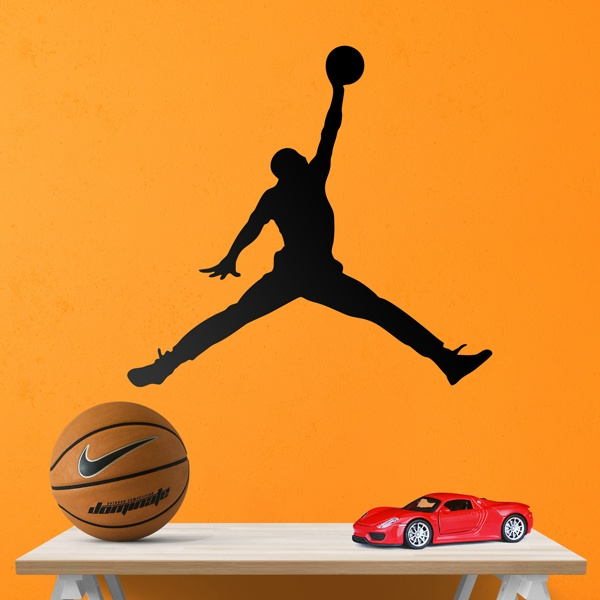 Wall Stickers: Air Jordan Bigger