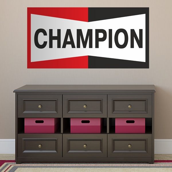 Wall Stickers: Champion Bigger