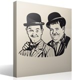 Wall Stickers: Stan Laurel and Oliver Hardy 2