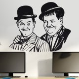 Wall Stickers: Stan Laurel and Oliver Hardy 3