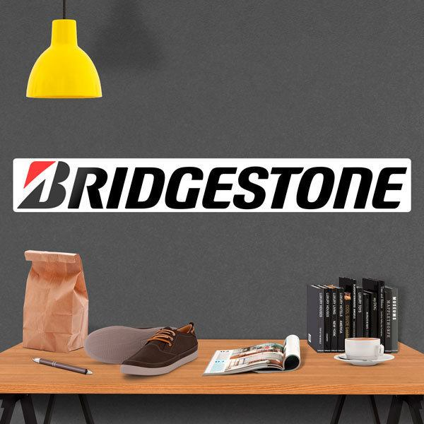 Wall Stickers: Bridgestone Tyres