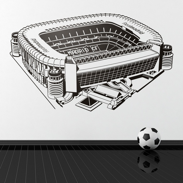 Stickers for Kids: Santiago Bernabéu Stadium