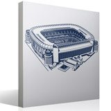 Wall Stickers: Santiago Bernabéu Stadium 2