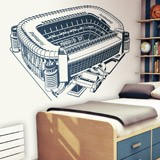 Wall Stickers: Santiago Bernabéu Stadium 3