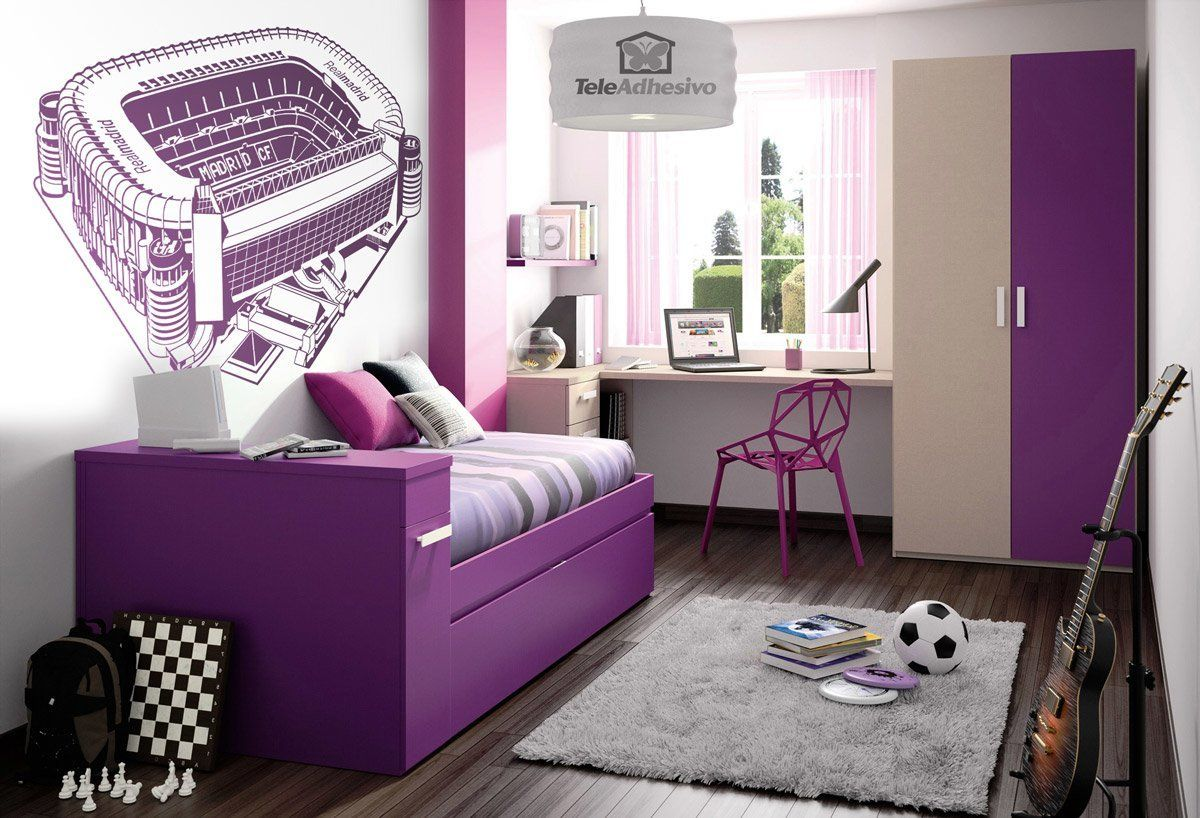 Wall Stickers: Santiago Bernabéu Stadium