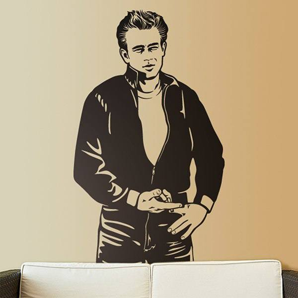 Wall Stickers: James Dean Bomber