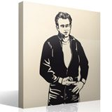 Wall Stickers: James Dean Bomber 2