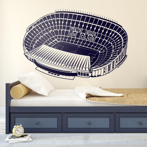 Wall Stickers: Camp Nou Stadium