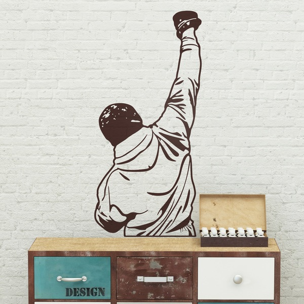 Wall Stickers: Rocky Balboa Fist