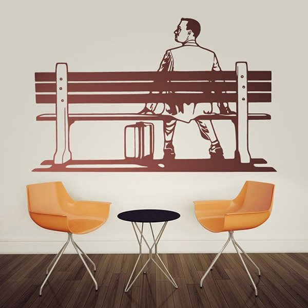 Wall Stickers: Forrest Gump