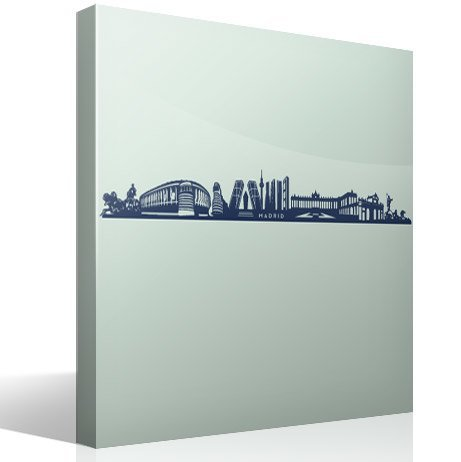 Wall Stickers: Skyline of Madrid