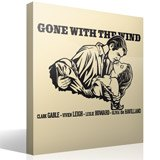 Wall Stickers: Gone with the Wind  2