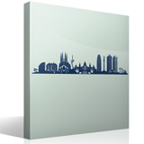 Wall Stickers: Barcelona Skyline 3