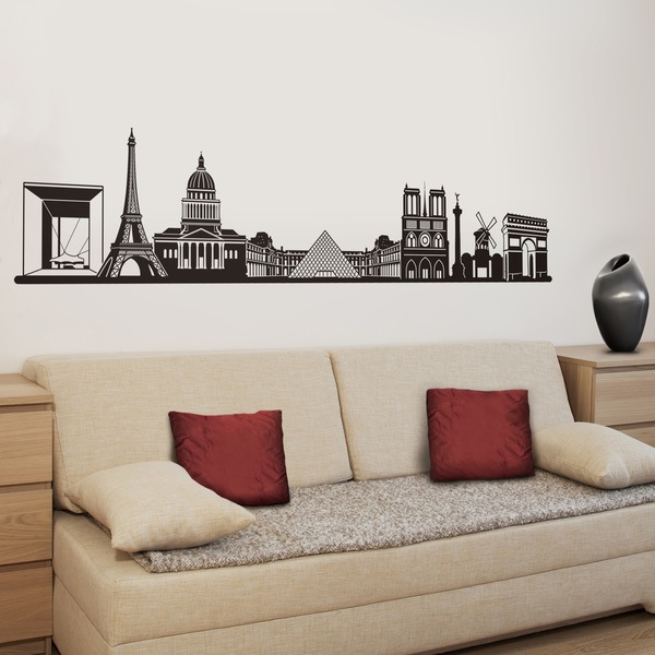 Wall Stickers: Paris Skyline