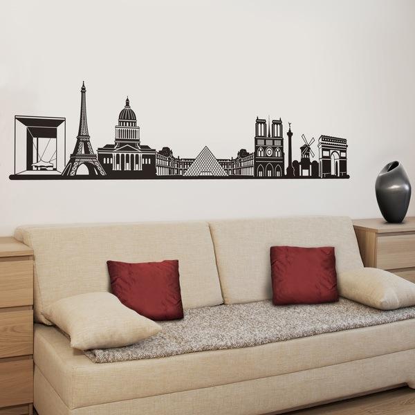 Wall Stickers: Paris Skyline