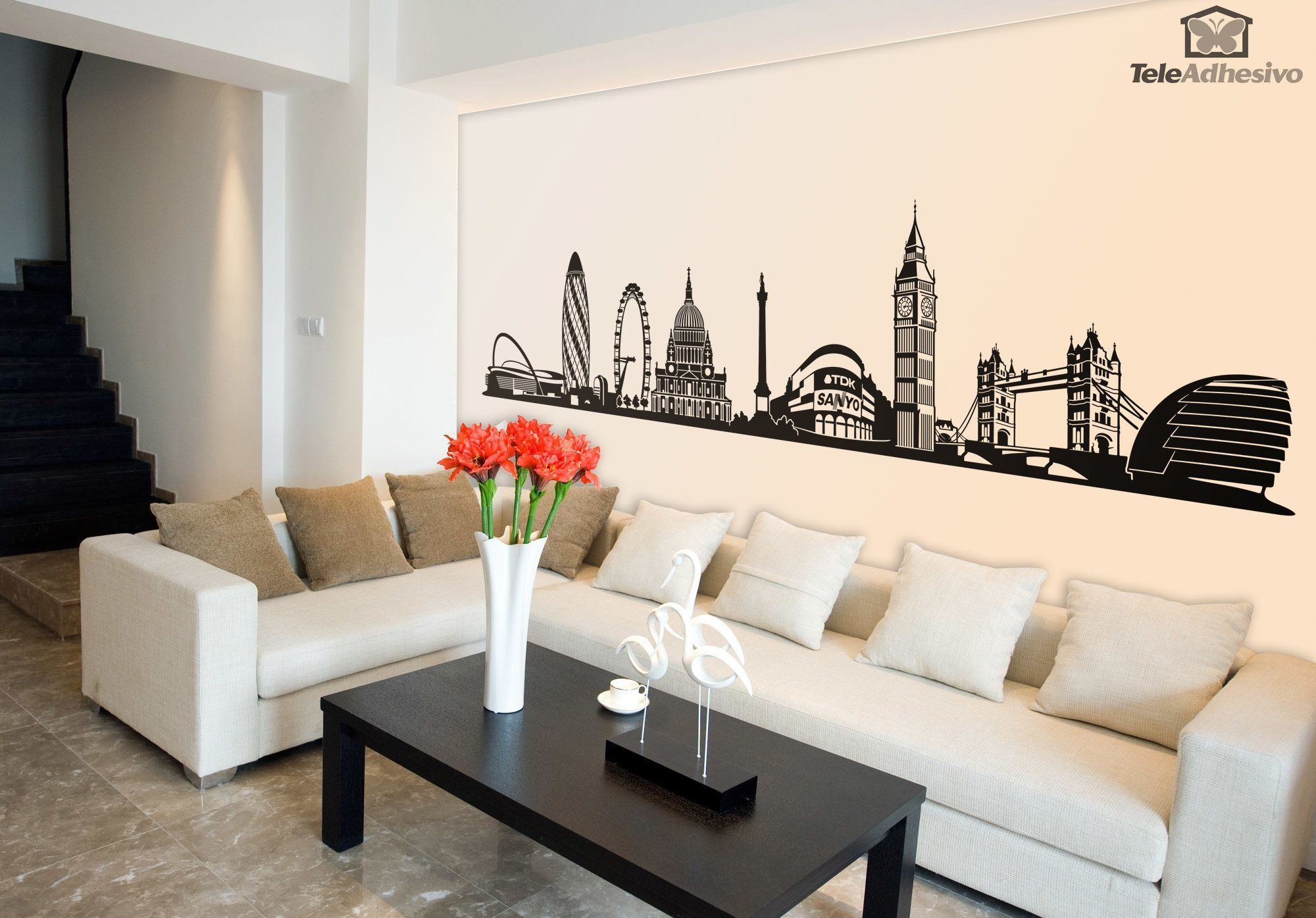 Wall Stickers: Skyline of London