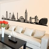 Wall Stickers: Skyline of London 3