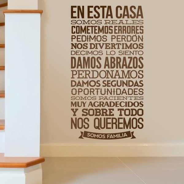 Wall Stickers: Somos Reales 0