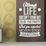 Wall Stickers: Never stop dancing 2