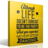 Wall Stickers: Never stop dancing 3