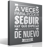 Wall Stickers: A veces para poder seguir... 3